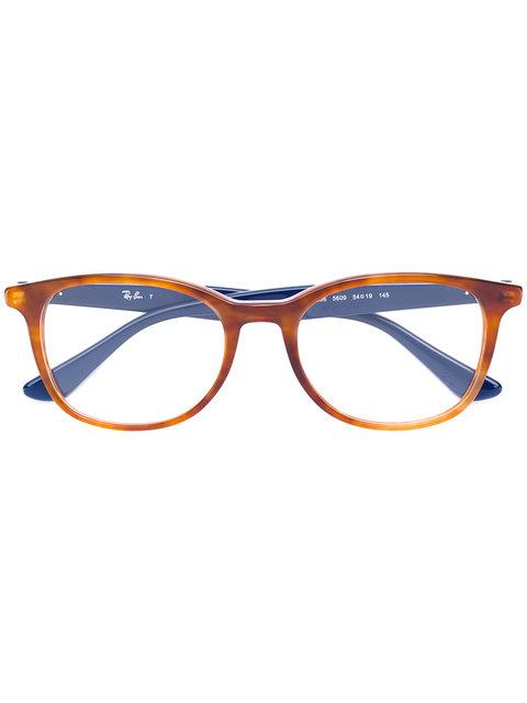 Ray Ban Two-tone Squared Glasses