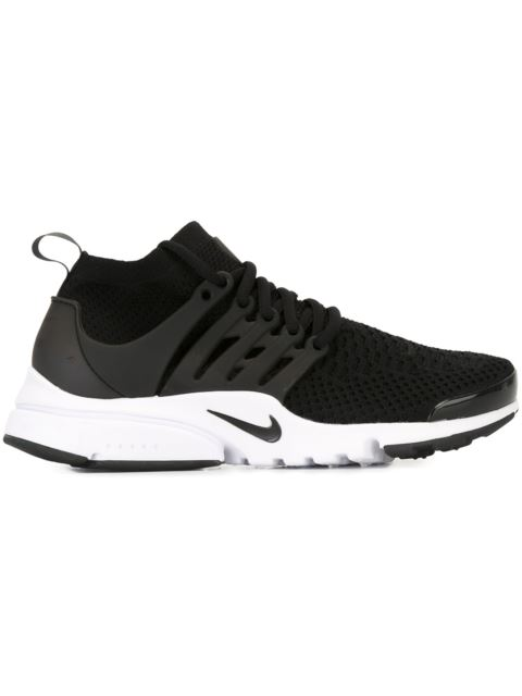 big sale f2759 20999 Nike Air Presto Ultra Flyknit And Rubber Trainers In Black