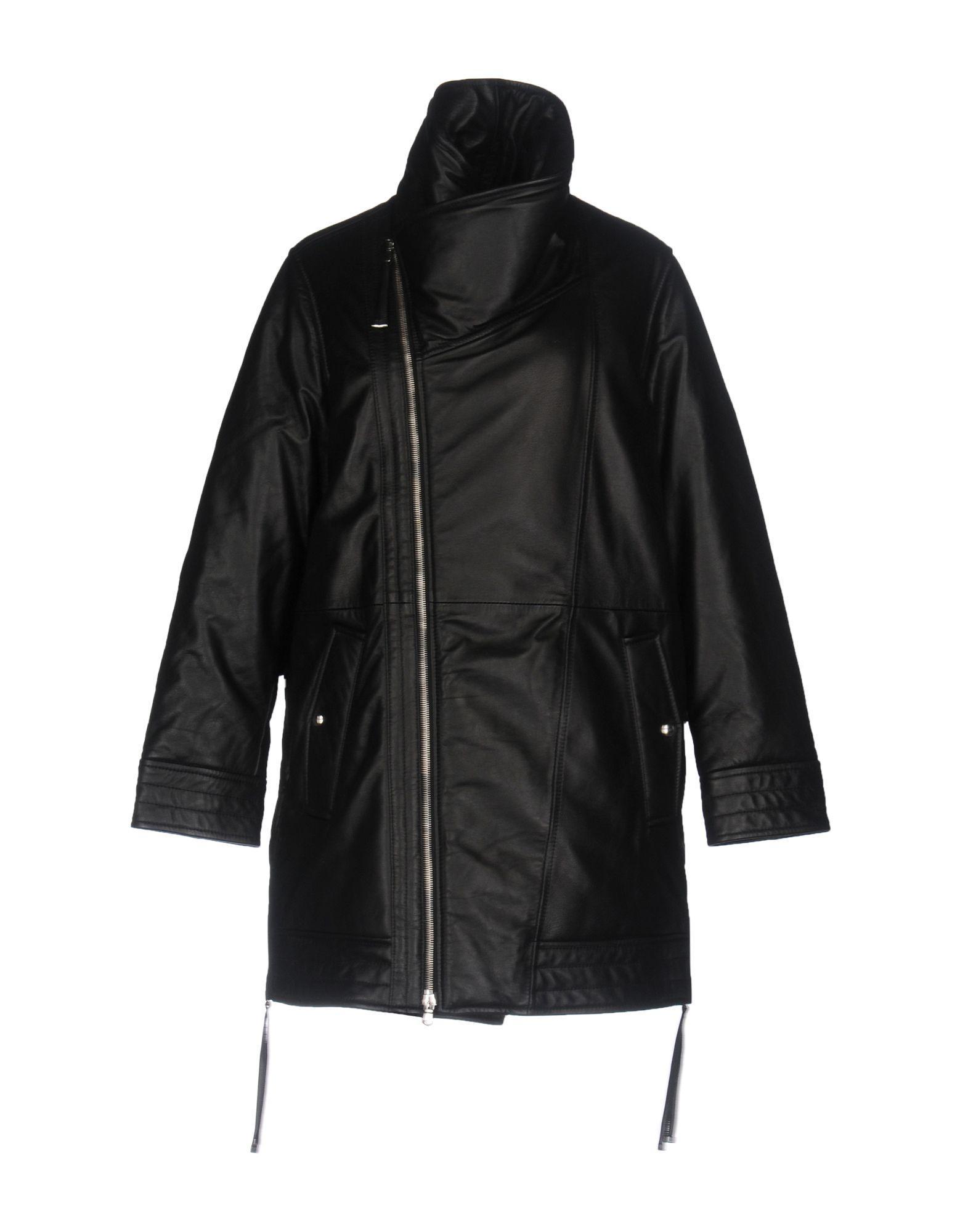 Diesel Black Gold Leather Jacket In Black