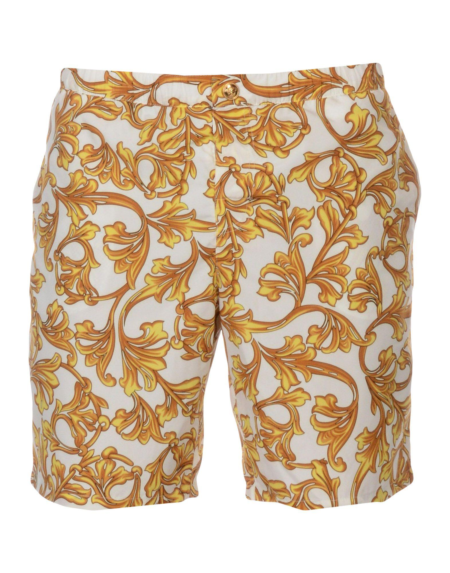 944265e231 Versace Swim Trunks In White | ModeSens