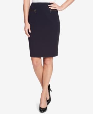 Tommy Hilfiger Pencil Skirt In Midnight