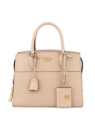 d74eeec1f5a21d Prada Esplanade Small City Satchel Bag In Nude | ModeSens