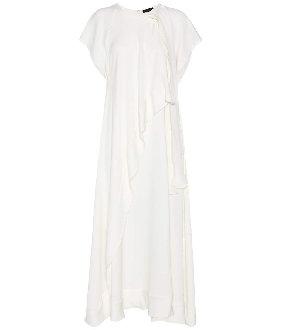 Ellery Egon CrÊpe Dress In Ivory