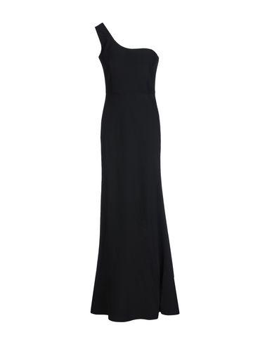 Alexander Mcqueen Long Dress In Black