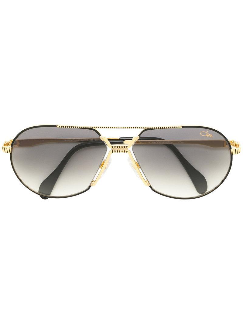 0c6ee8b5b072 Cazal Classic Aviator Sunglasses - Metallic | ModeSens