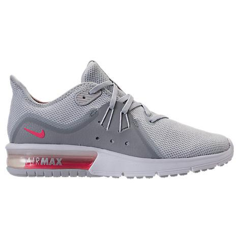 6d4f272641b29f Nike Women s Air Max Sequent 3 Running Sneakers From Finish Line In White