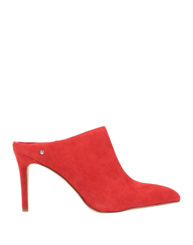 Sam Edelman Oran Suede High Slide Mule, Candy Red