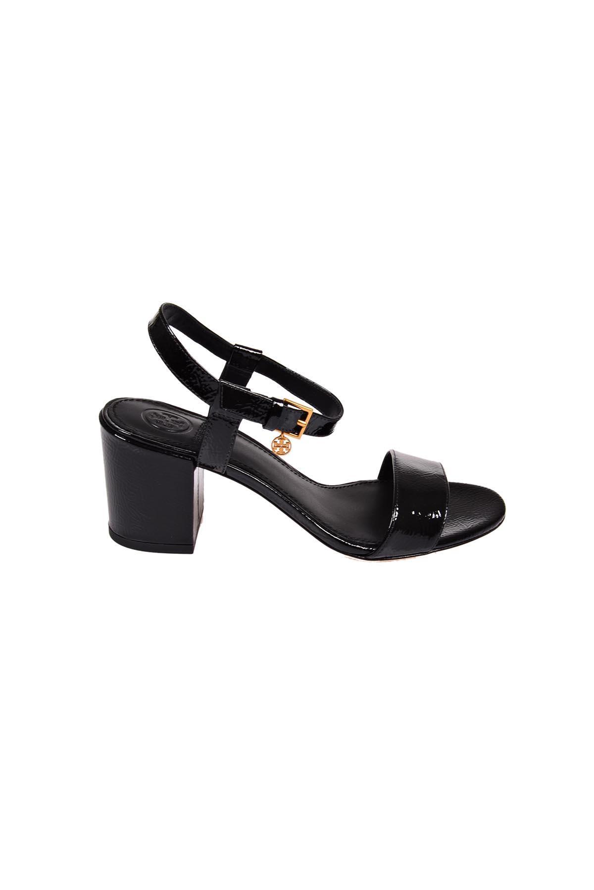 b13cdbbb488 Tory Burch Laurel 65Mm Ankle-Strap Sandal In Black