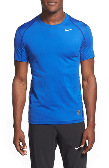 628732c5 Nike 'Pro Cool Compression' Fitted Dri-Fit T-Shirt In Game Royal ...
