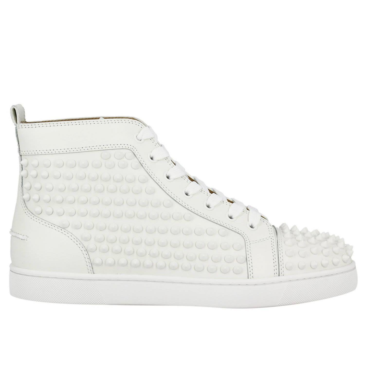 Sneakers Shoes Men Christian Louboutin In White