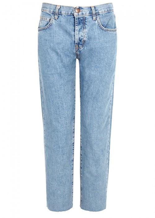 Current Elliott The Original Straight-Leg Jeans In Blue