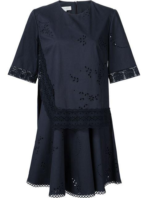 Stella Mccartney 'winnet' Dress In Blue