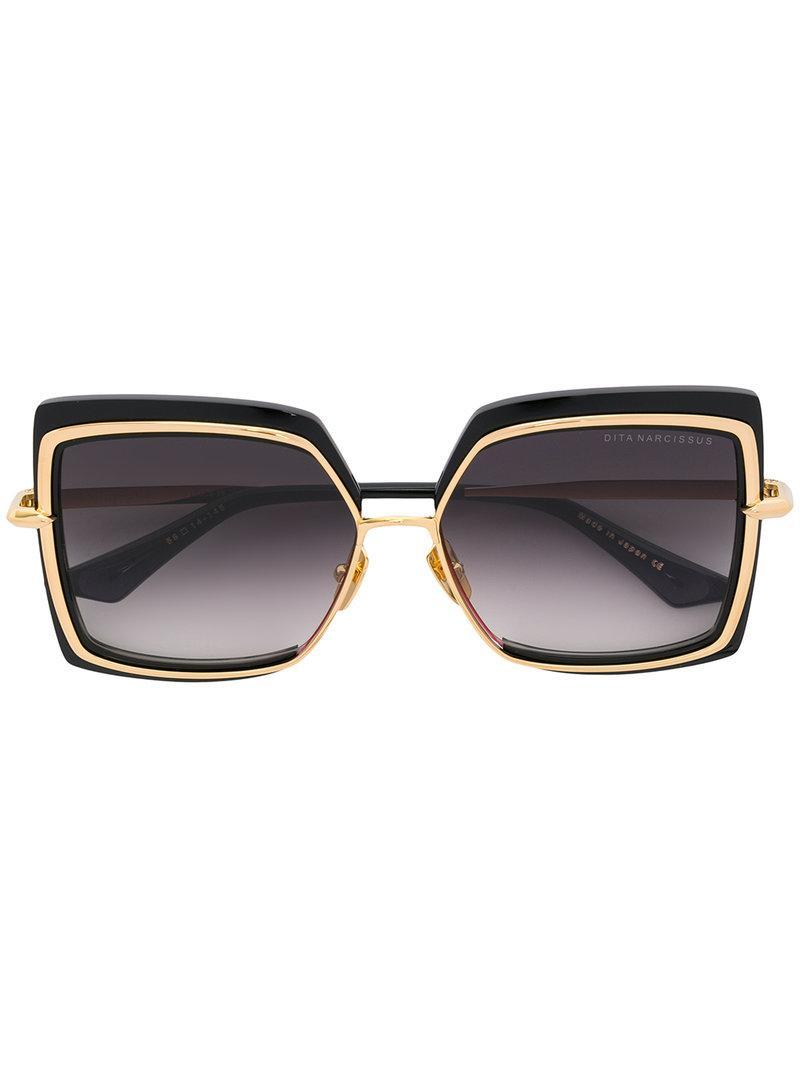 4d94b947cd33 Dita Eyewear Narcisus Sunglasses - Black. Farfetch