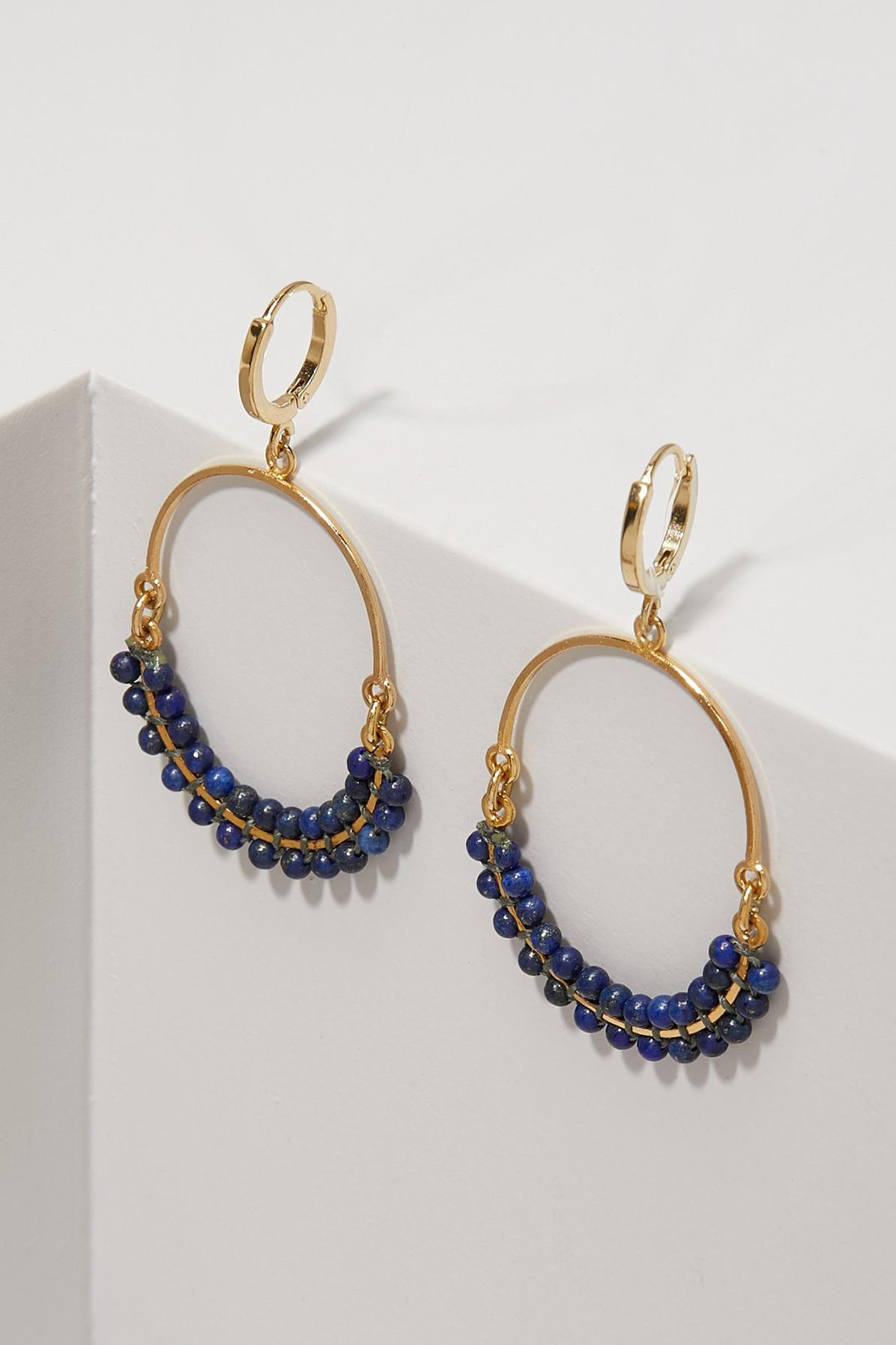 478ca61dc8e Isabel Marant Boucle Oreille Earrings In Navy | ModeSens