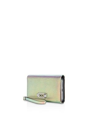 hot sale online 98fca 82050 Love Lock Wristlet Iphone X Case in Holographi