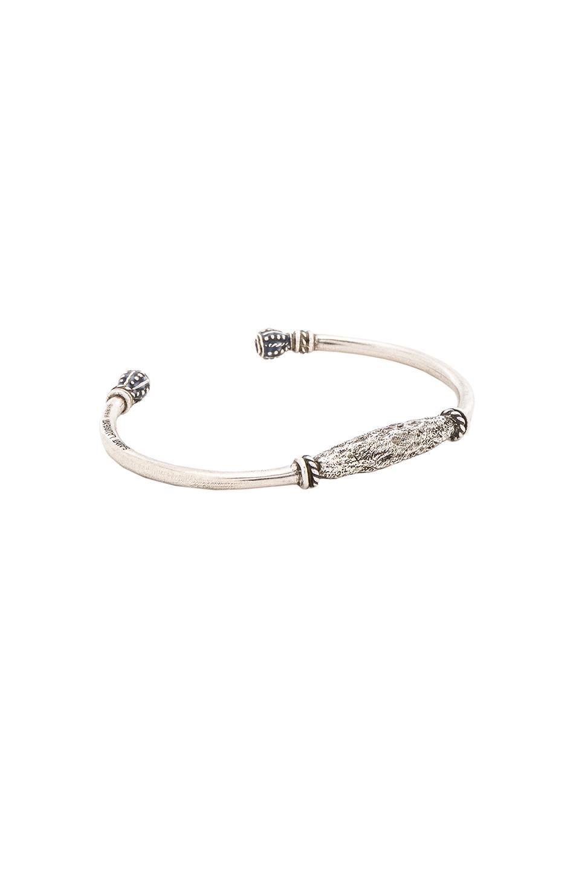 10caf40d13 Silver Marrakech Berber Bangle Bracelet in Metallics