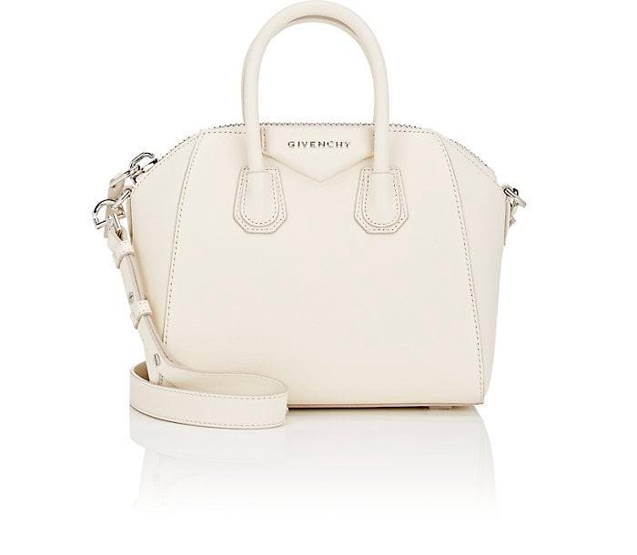 7a54252ab6d Givenchy 'Mini Antigona' Sugar Leather Satchel - Ivory In Off White ...