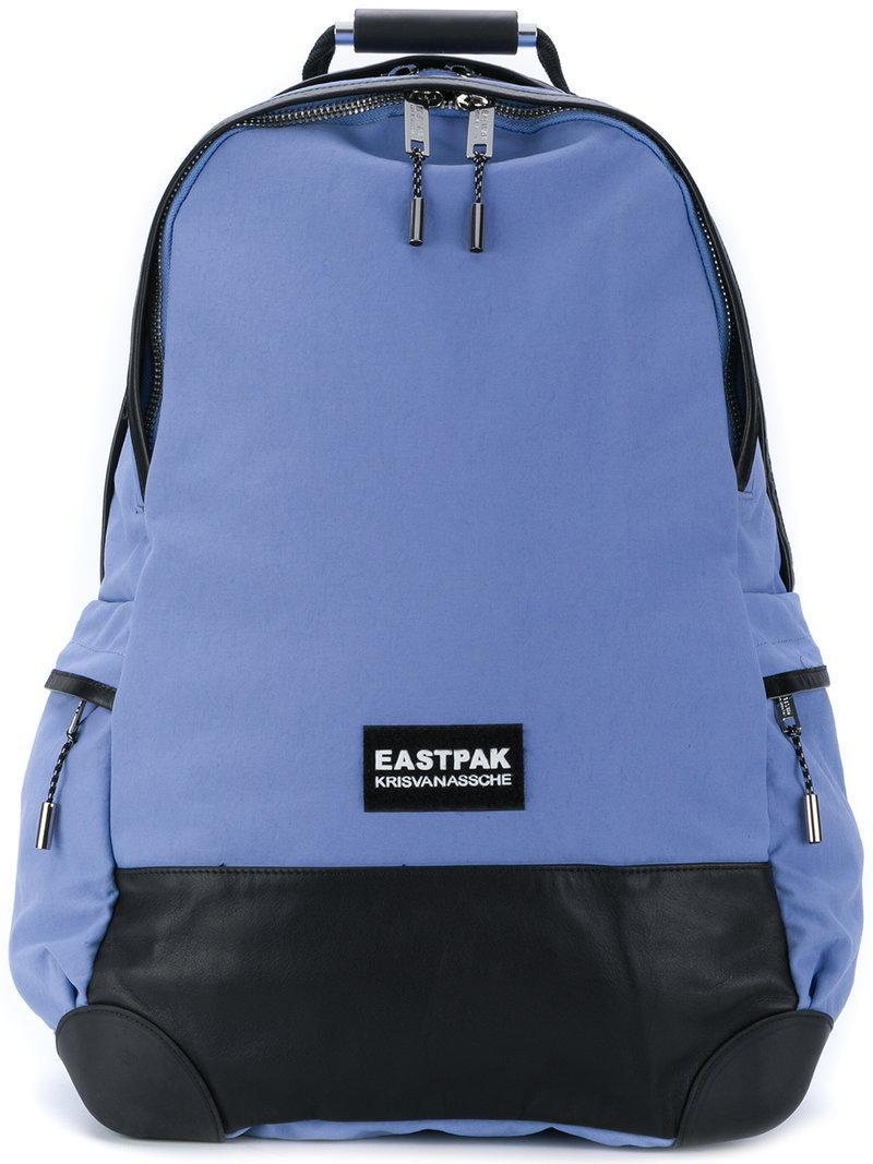 Eastpak Top Zip Backpack - Blue