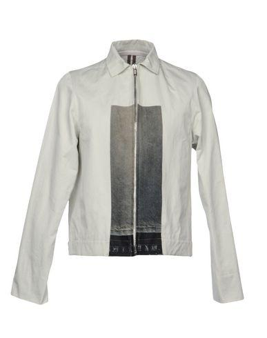 Rick Owens Drkshdw Jacket In Light Grey
