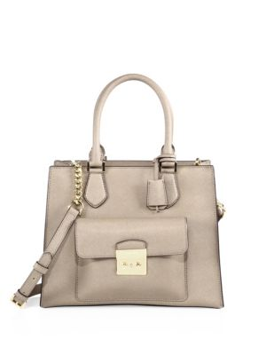 4458c9d61d3a05 Michael Michael Kors Medium Bridgette East/West Tote In Dark Dune ...