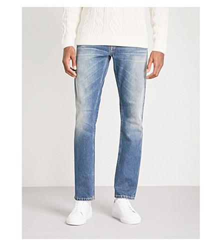 142a2a5f Nudie Jeans Fearless Freddie Loose-Fit Straight Jeans In Crispy Clear