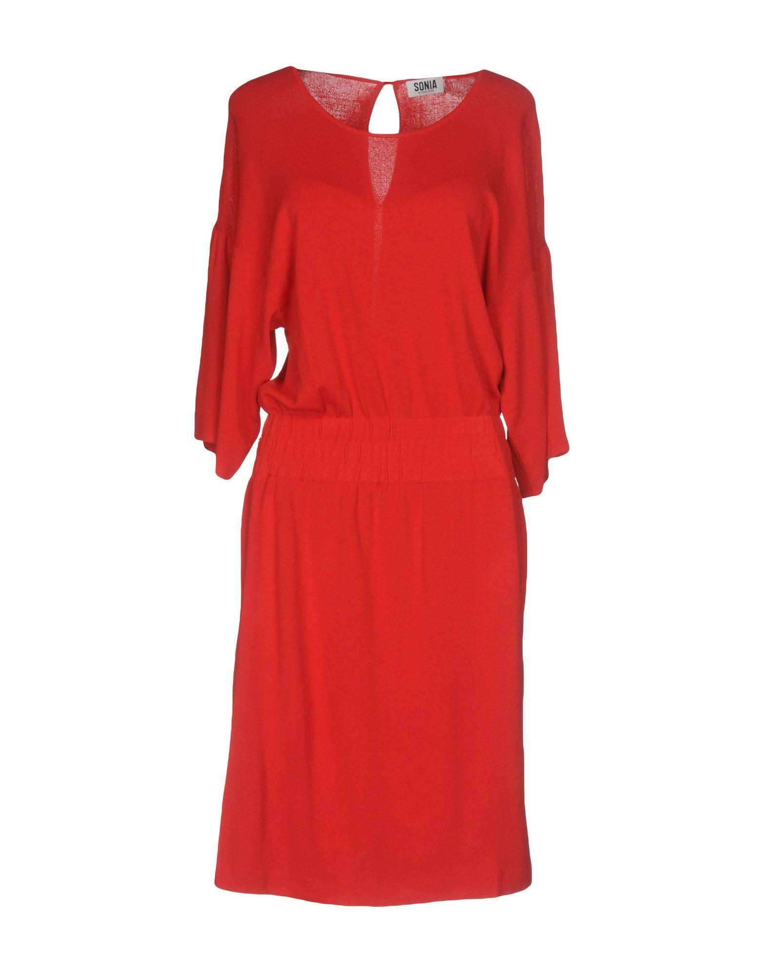 e4226de9c3be99 Sonia By Sonia Rykiel Knee-Length Dresses In Red