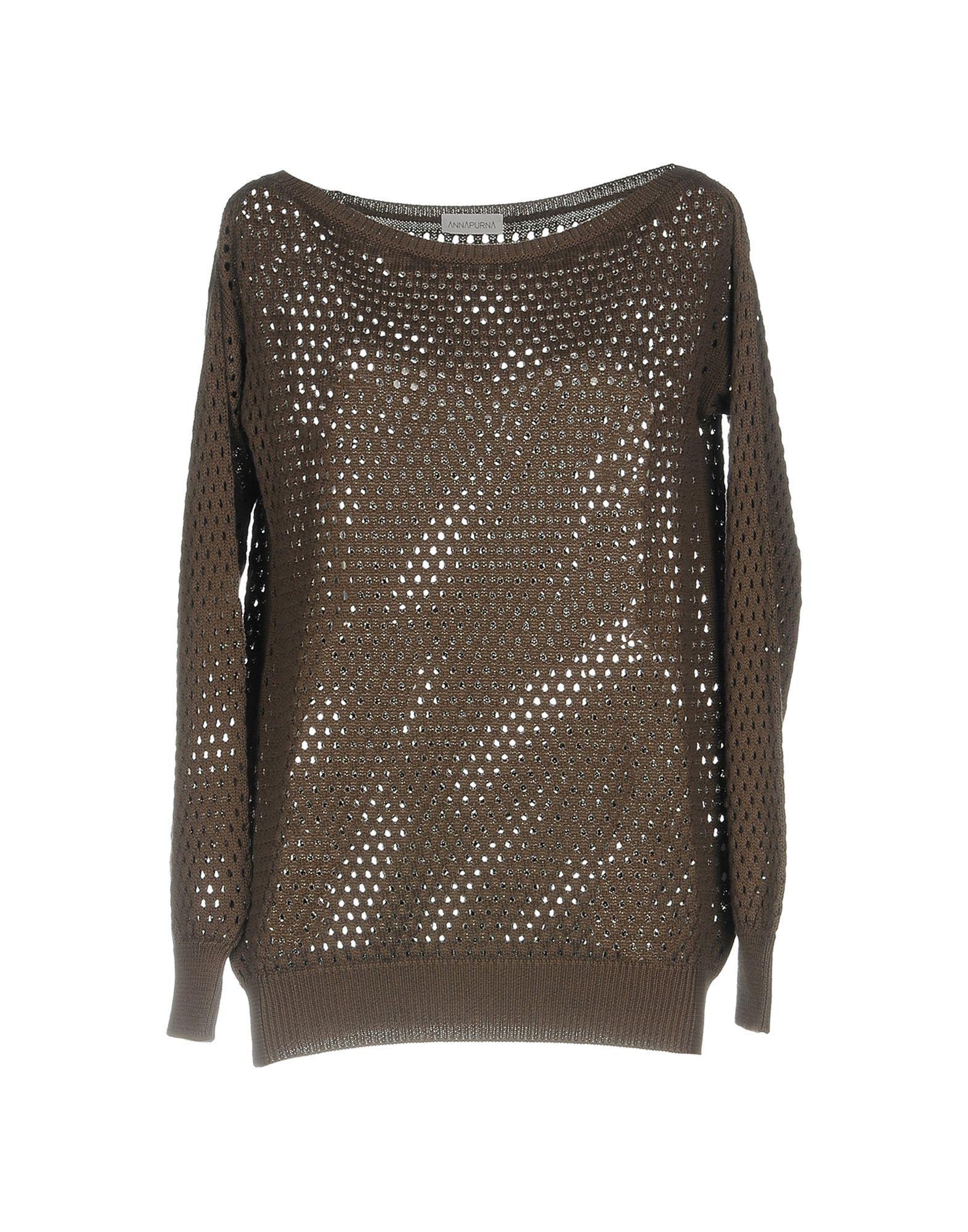 Annapurna Sweater In Dark Brown