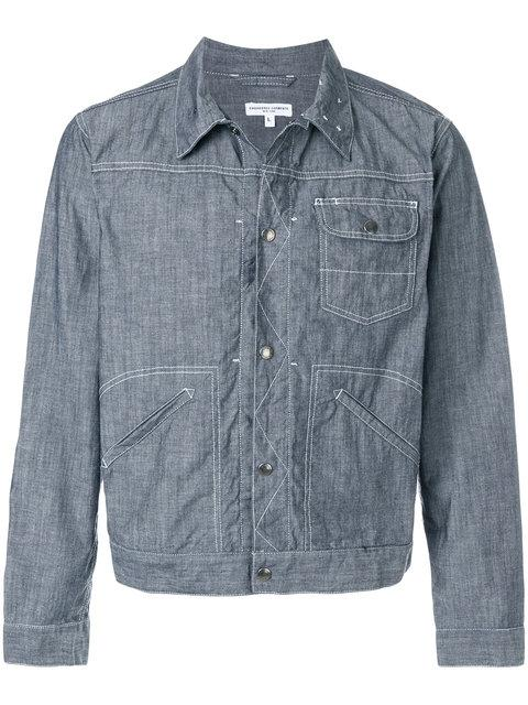 Engineered Garments Patch Pocket Jacket In Blue