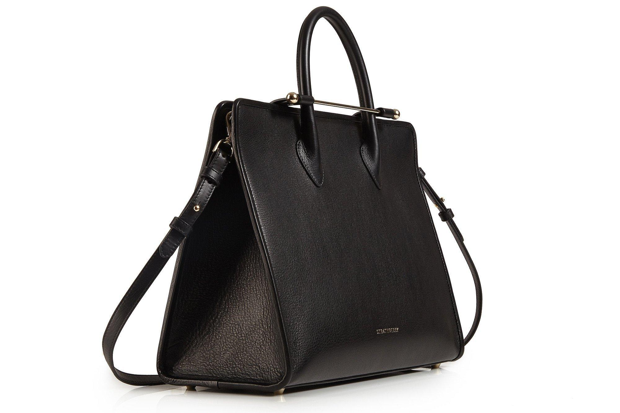 Strathberry Of Scotland The Strathberry Tote - Black