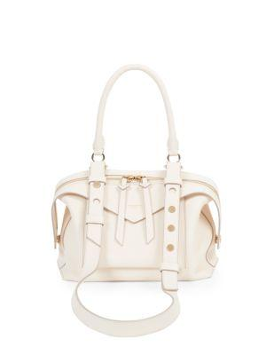 Givenchy Medium Sway Leather Satchel - Ivory In Off White  a6fd84a872d82