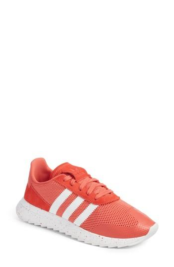 eb563c6629d63b Adidas Originals Adidas Women s Flb Runner Originals Running Shoe In Trace  Scarlet  White