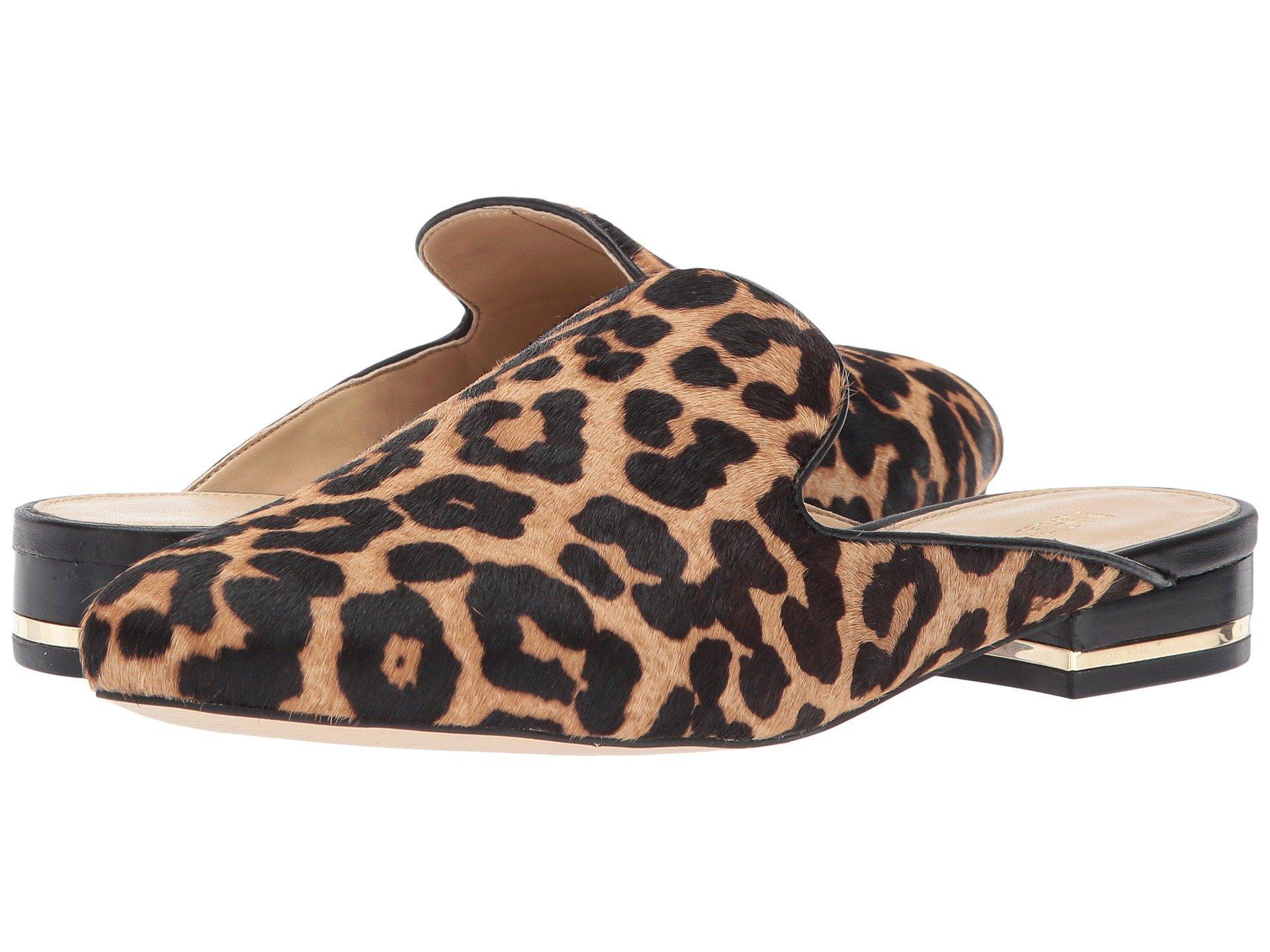 91f786ded6 Michael Michael Kors Natasha Slide In Natural/Black Cheetah Haircalf/Nappa 1