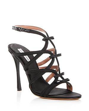 Tabitha Simmons Women's Bowrama Strappy High-Heel Sandals In Bkgro
