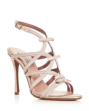 Tabitha Simmons Women's Bowrama Strappy High-Heel Sandals In Rose