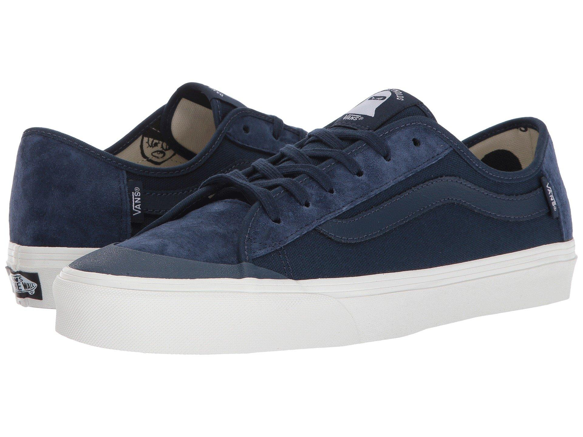 b27d43491892cf Vans Black Ball Sf In (Dane Reynolds) Navy Blanc