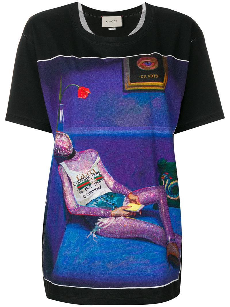 18663a013 Gucci Ignasi Monreal Print T-Shirt | ModeSens