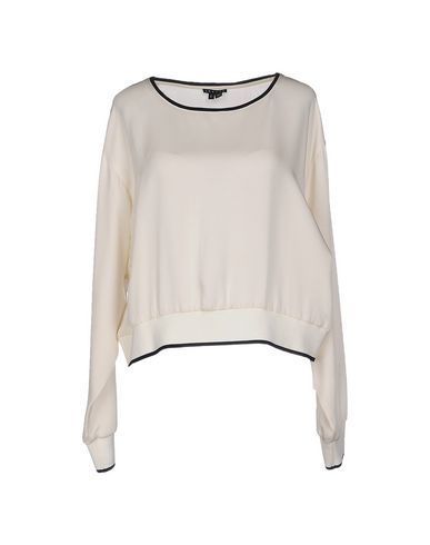 Theory Blouse In Ivory