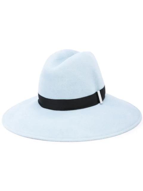 Gigi Burris Millinery Requiem Hat In Blue