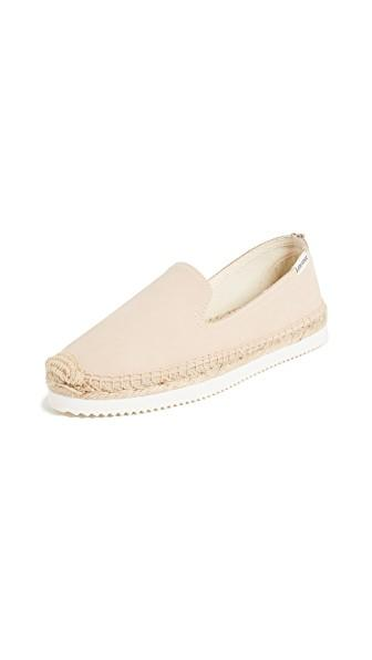 d284ebeb193b Leather  Cowhide Espadrilles Flat profile Platform profile Rounded toe  Rubber sole Imported