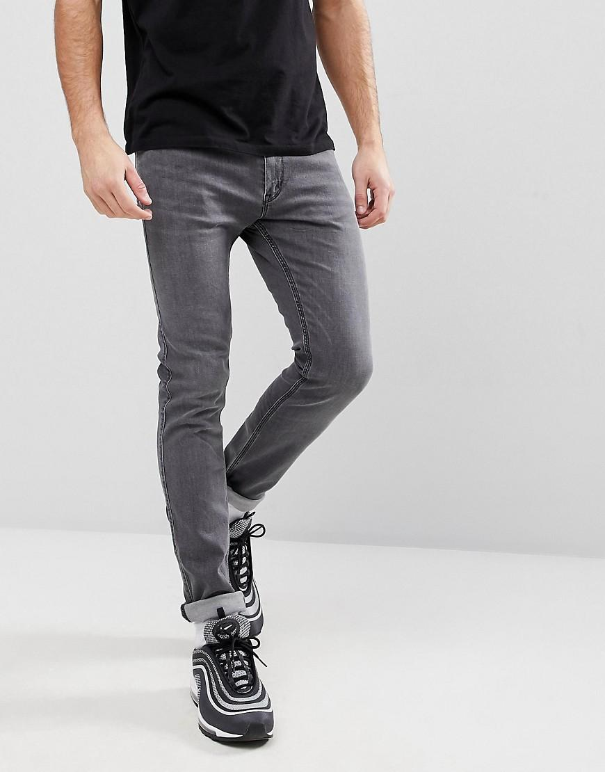 online rock-bottom price modern and elegant in fashion 734 Soft Stretch Jeans In Gray - Gray