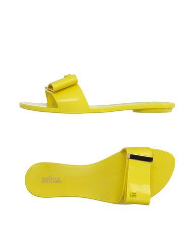 Melissa Flip Flops In Yellow