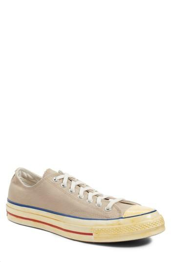 ce60e46ac7fb Converse Men s Chuck Taylor All Star 70 Vintage Lace Up Sneakers In Vintage  Khaki