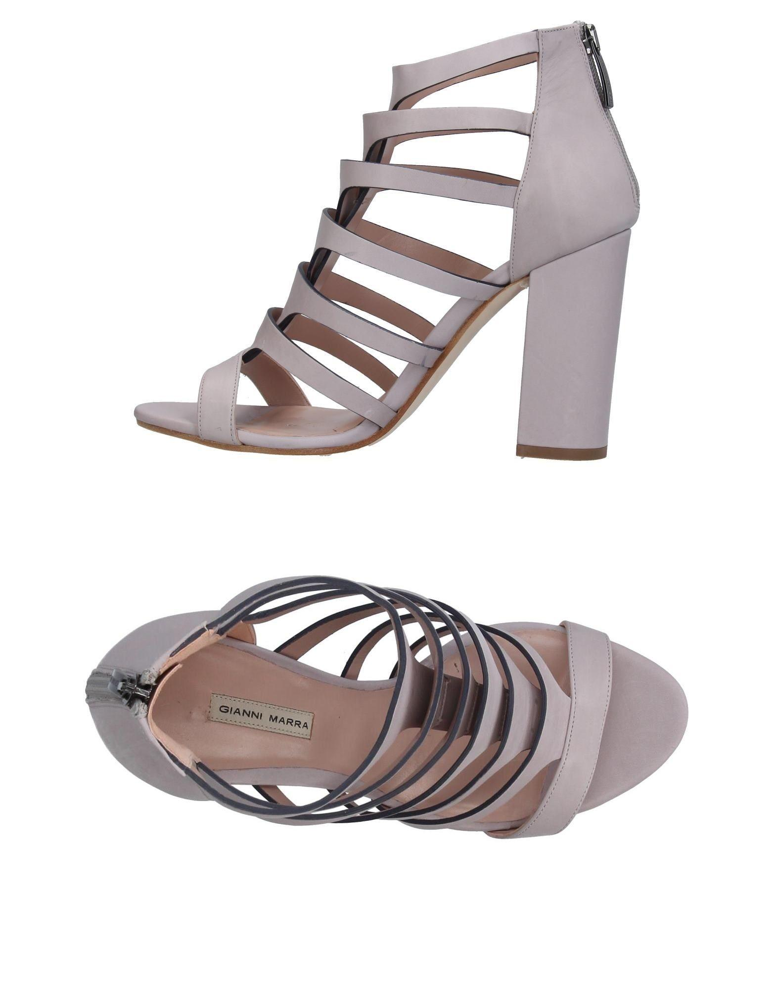Gianni Marra Sandals In Lilac