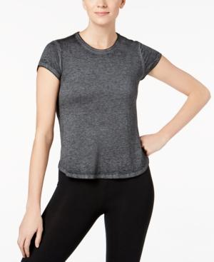 Calvin Klein Performance Flared-Hem Top In Black