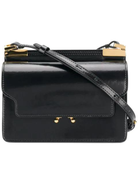 Marni Micro Trunk Bag - Black
