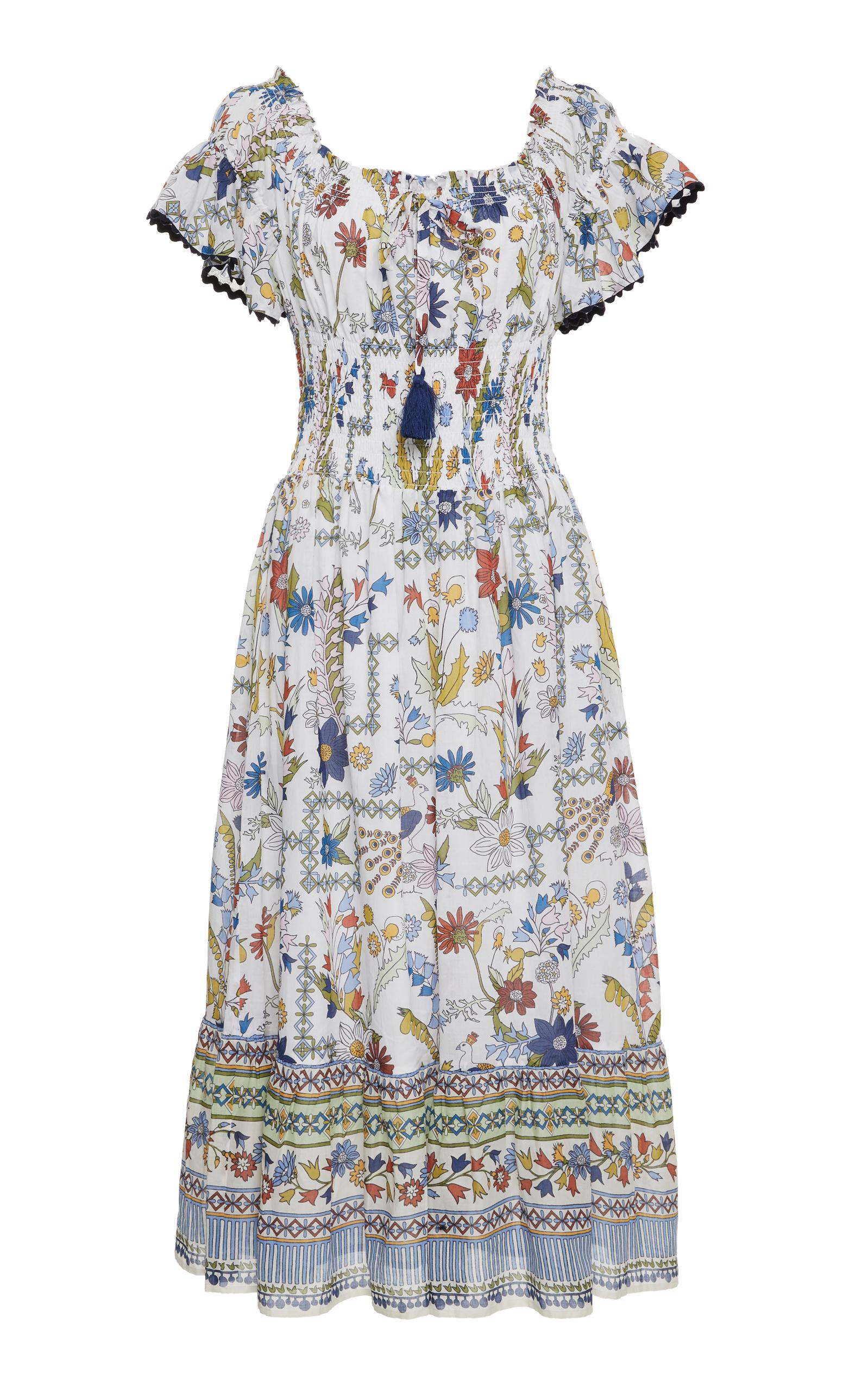 8413c06e2c Tory Burch Meadow Folly Floral Dress | ModeSens
