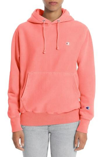 5daf06d65536 Champion Reverse Weave Pullover Hoodie In Sizzling Orange