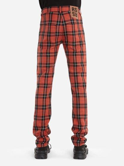 056756c0 Raf Simons Classic Tartan Jeans In Red | ModeSens