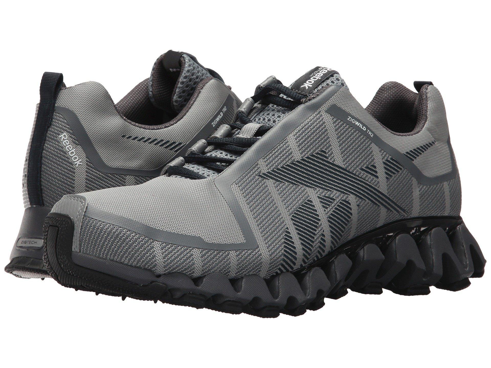 low priced 42454 4470a Reebok Zigwild Tr 2 In Flat Grey Ash Grey