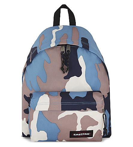 f9ace03a6a0 Eastpak Authentic Padded Pak'R Backpack In Camo Navy | ModeSens
